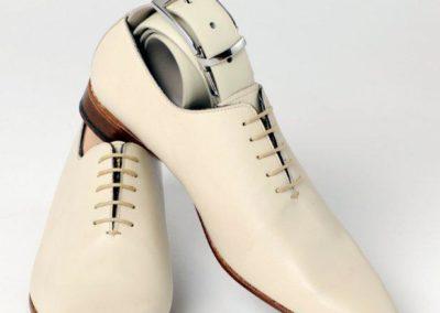 9634-beige - chaussures en cuir personnalisables, fabriquées main - Caralys Nice