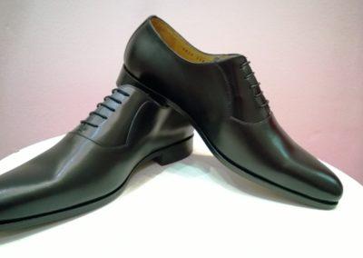 9828-noir- chaussures en cuir personnalisables, fabriquées main - Caralys Nice