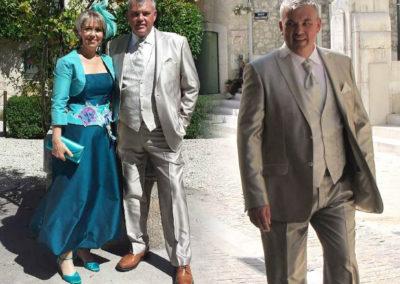 Mr et Mme G. : invités à un mariage le 23/08/14. « Nous avons été accueillis par une jeune femme à l'écoute, disponible, aux conseils très pertinents. Accueil chaleureux et essayages personnalisés. Retouches rapides et de qualité. Prix très corrects et en rapport avec la qualité des vêtements comme des prestations. Adresse incontournable si vous souhaitez « sortir du lot » !
