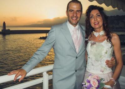Sébastien - Mariage le 20 Septembre 2014 à Nice – Costume sur mesure. Cela va bientôt faire 6 mois que notre mariage s'est déroulé et ce fut un week-end inoubliable. Tout le monde nous avait trouvés magnifiques Au plaisir de vous revoir. Cordialement. Sébastien et Stéphanie
