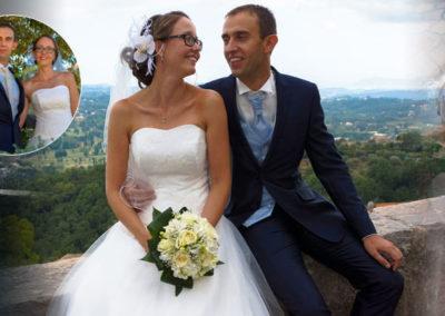 Thomas, Mariage le 29 Juillet 2017 avec un costume, gilet et accessoires sur mesure.